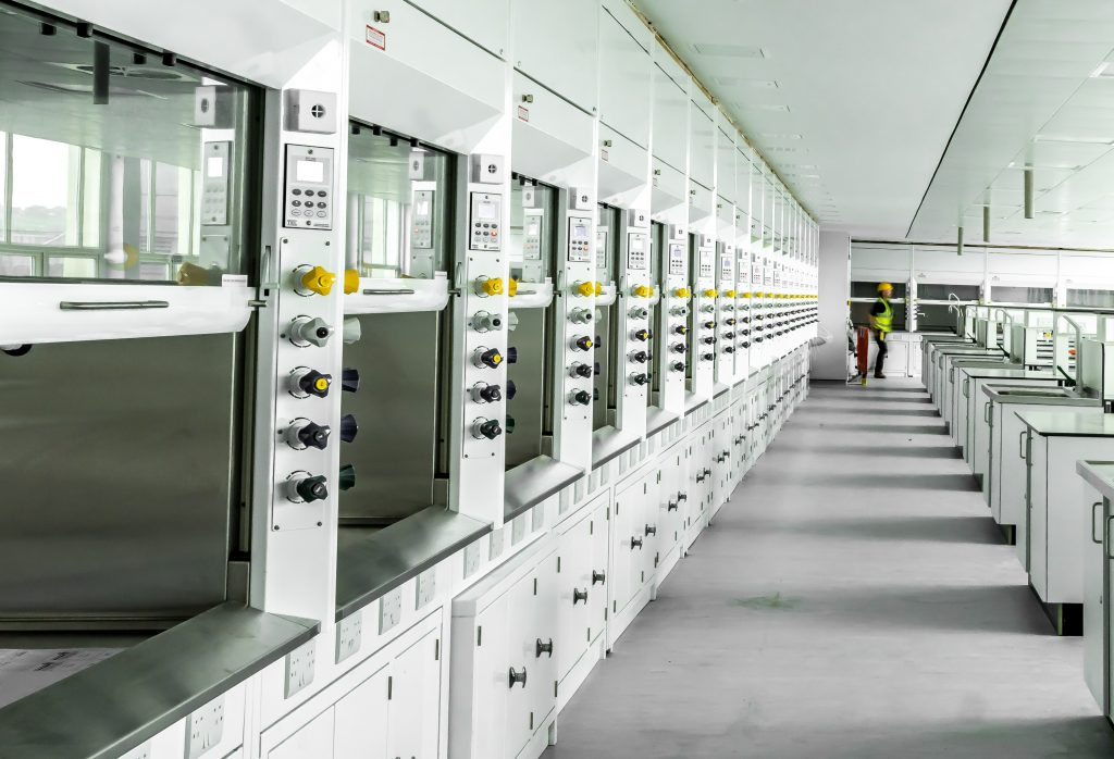 laboratory refurbishment