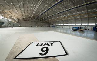 hangar refurbishment