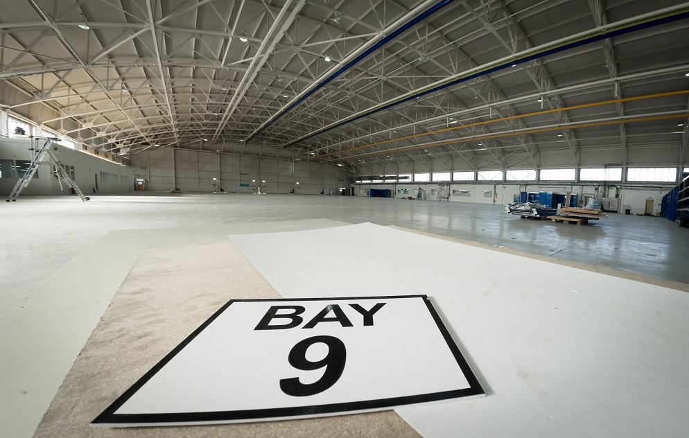 hangar refurbishment