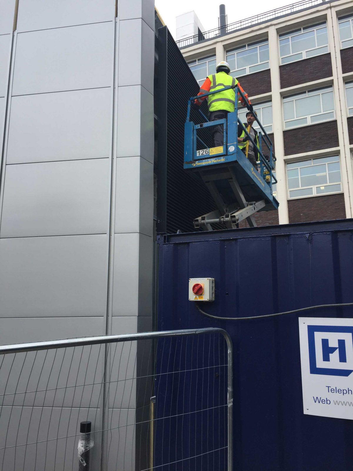 Experience of Working in a Live Environment for University Refurbishments
