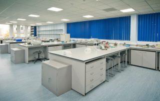 university laboratory installation