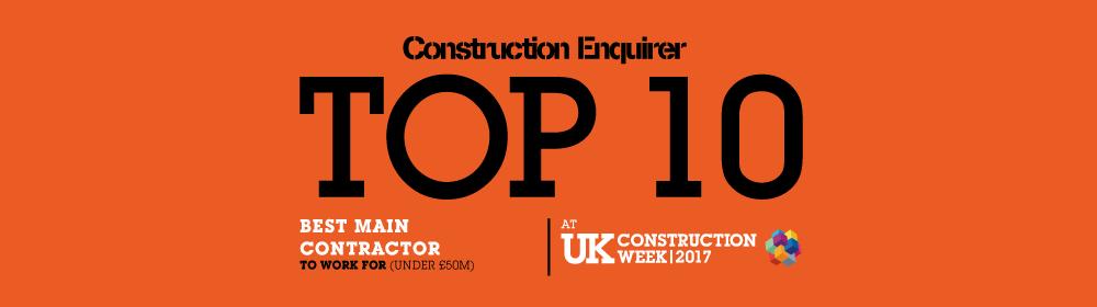 construction enquirer top ten winner
